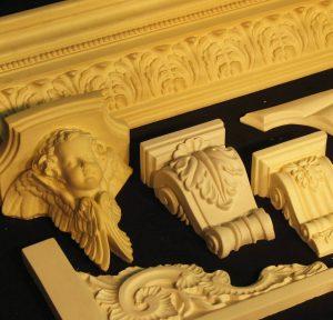 Polyurethane resin Ornamentation