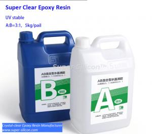 5kg Crystal clear epoxy resin 121